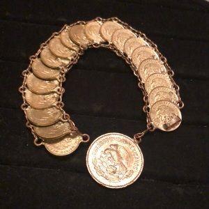 Mexican 1 centavo 1958-1962 Bracelet #25